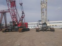 SECOND HAND CRAWLER CRANE FUWA QUY80B AND QUY100A