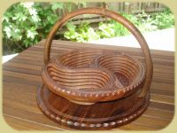 COLLISIBLE WOODEN BASKET