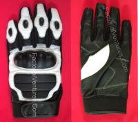 Motor bike gloves