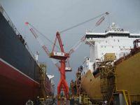 ship building crane