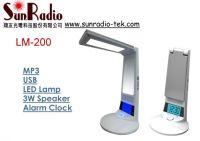 Multifunction LED Desk Lamp