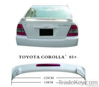 Abs Rear Spoiler For Corolla 2003-2005