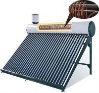 integrative pressurized solar water heater with heat exchanger