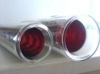 Tri-target solar vacuum tube