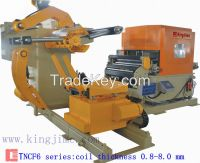 3 in 1 staightener feeder with decoiler