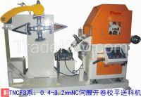 Steel coil  NC uncoiler leveler feeder