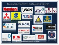 Technical Translation Services to the trade and Industry