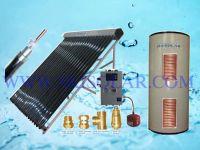 Split Pressurized solar water heaters with double Heat Exchanger