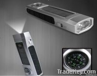 Solar Flashlight 5LED (LS0501P)
