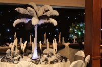 Ostrich Feather, Ostrich Feather Centrepieces, Wedding Centrepiece