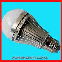 5W E27 led ball light---high power dimmable lamp