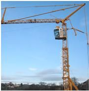 POTAIN SELF ERECTING TOWER CRANE