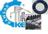 PVC Pipe and Handpump