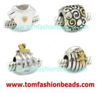 Sterling Silver Beads (Gold/Silver Plated)