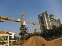 self-raised tower crane with GOST