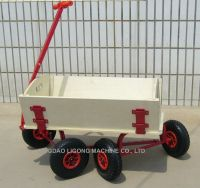 Wooden Wagon, All Terrain Wagon, Wheel Barrow, Tool Cart