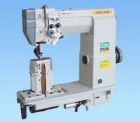 Single/double needle Lockstitch Sewing Machine with Roller
