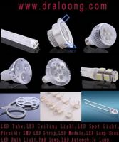 LED Items, like LED Tube, LED Ceiling, LED Spot, LED Bulb, PAR Lamp, LED A