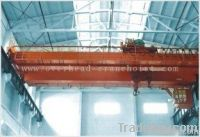double girder bridge overhead crane for lifting and transporting