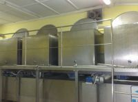 Industrial line for producing ice cream