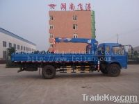 5ton truck mounted telescopic-boom crane