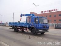 6.3ton truck-mounted hydraulic cranes&telescopic boom & knuckle boom