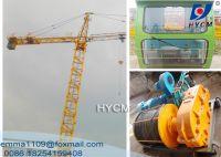 TC3508 Mini Tower Crane 35m Boom 2.5t Load Parameter