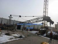 Hot Model QD1840 Derrick Crane 10t Load 4.0t at 18m Luffing Work Jib