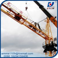 TC5013 Hammerhead Tower Crane 50m Working Jib 6t Max.Load 40m Height