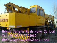 USED kato NK-250E truck crane