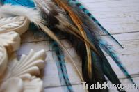 Grizzly Rooster Feathers For Hair Extensions
