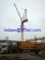 Supply New HuiYou QTD125 luffing tower crane