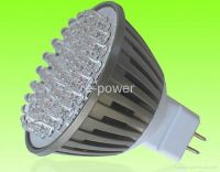 LED Spotlight MR16-3.8W60pcs super bright LEDsaluminum alloy