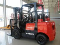 forklift truck diesel powered 3 tons