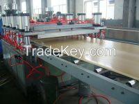 PVC WPC skinning, semi-skinning foam board extrusion line