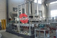 Plastic Hot Cut Granulating Production Line