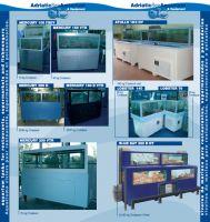 Sistemas de depuracion de ostras y sistemas de stock de mariscos.