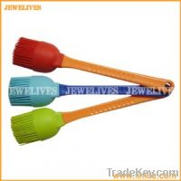 Silicone Bbq Brushes With Plastic Handle