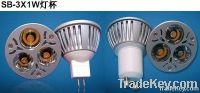 3X2W Dimmable LED bulb lighting