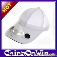 Solar Cooling Fan Cap