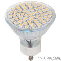 gu10 60 smd high bright led light