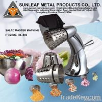 chinese salad food choppers making machine factory