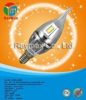 4w e14 candle lamp shade, led lamp candle, dimmable led candle bulb