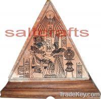 Himalayan Pyramid Salt Lamp