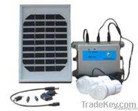 Portable solar lighting kit