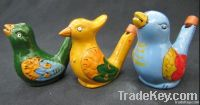 Water Bird Whistle, Clay Bird, Ceramic Whistle Bird