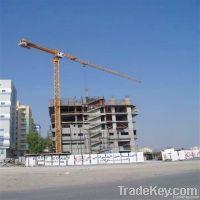 Supply New China QTP250(6040), 4t-12t, Flat-top/Topless Tower Crane
