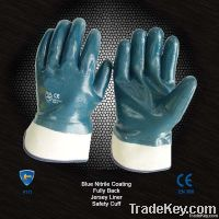 Heavy Duty Nitrile Coated Glove