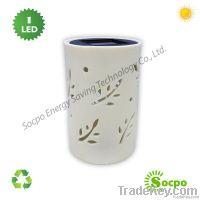 Solar Ceramic Light, Solar Garden Lamp, Home Decorative light