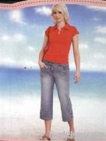 Women 3 Quarter Jeans & Pants